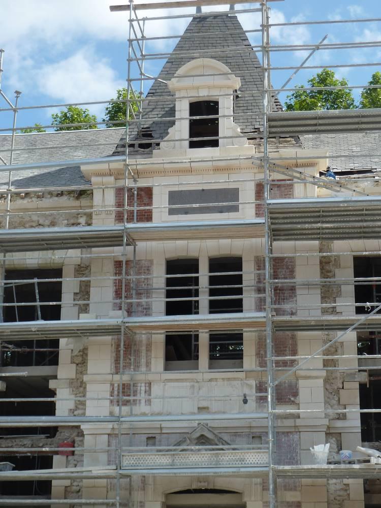 Restauration Hospice XIX Siècle à Romorantin